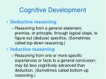 cognitive development30