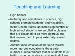 teaching and learning34