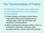 the transformations of puberty20