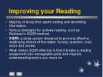 improving your reading