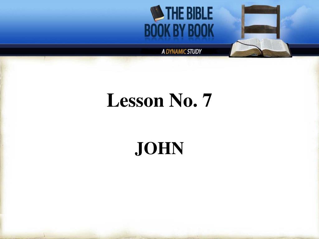 lesson no 7 l.
