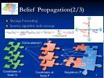 belief propagation 2 3