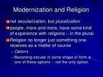 modernization and religion20