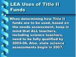 lea uses of title ii funds25