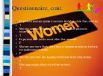 questionnaire cont24