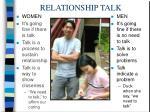 relationship talk