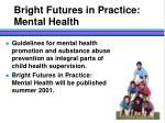 bright futures in practice mental health