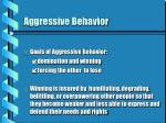 aggressive behavior4