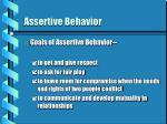 assertive behavior14