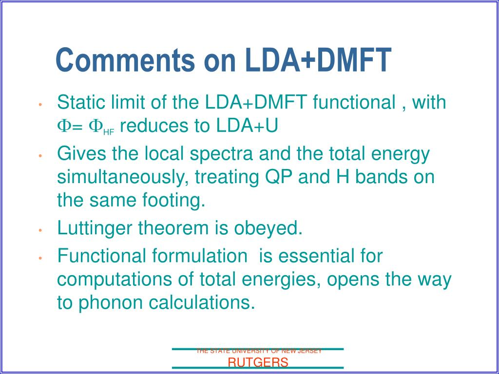 Static limit of the LDA+DMFT functional , with