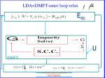 lda dmft outer loop relax