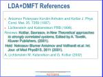 lda dmft references