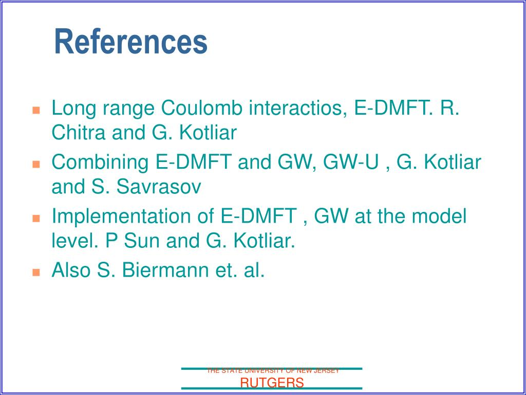 Long range Coulomb interactios, E-DMFT. R. Chitra and G. Kotliar