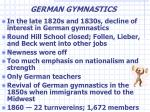german gymnastics