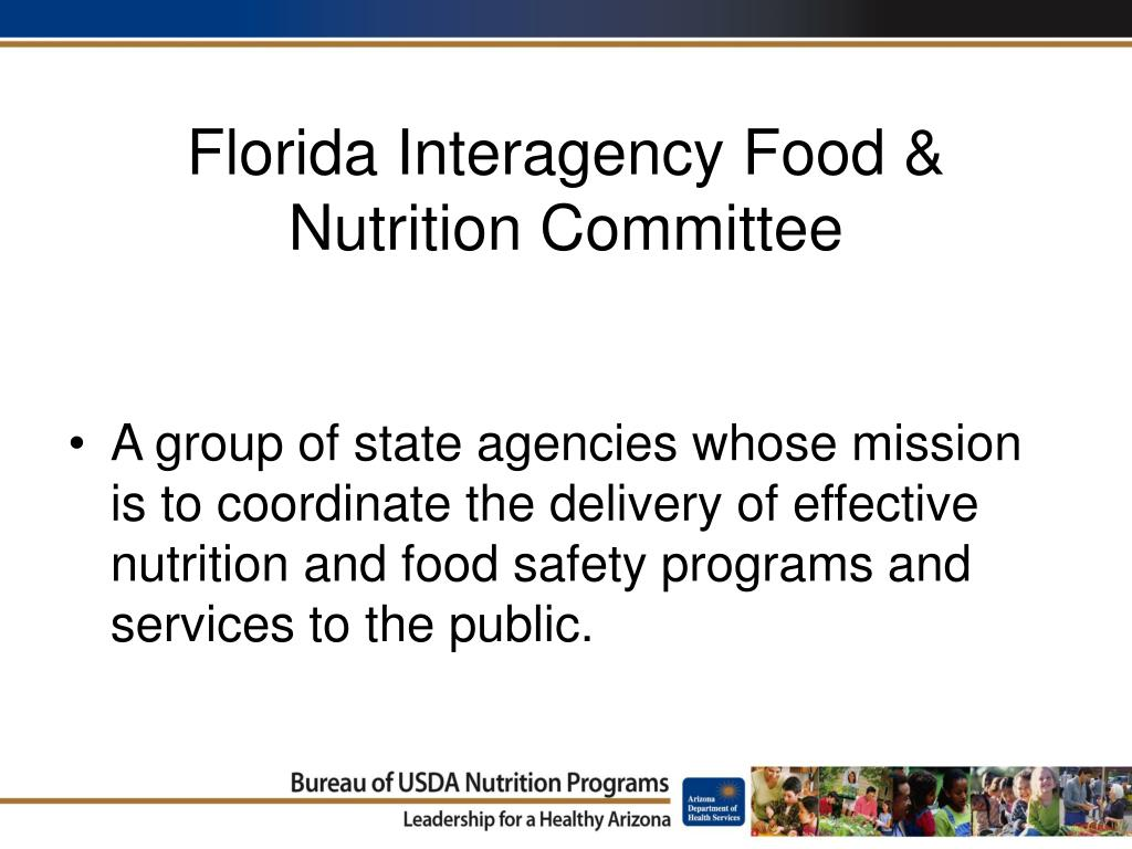 Florida Interagency Food & Nutrition Committee