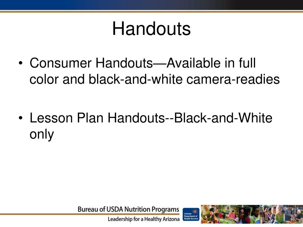Handouts