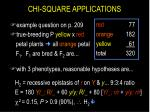 chi square applications30