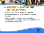 4 support e learning and virtual schools