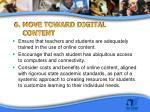 6 move toward digital content