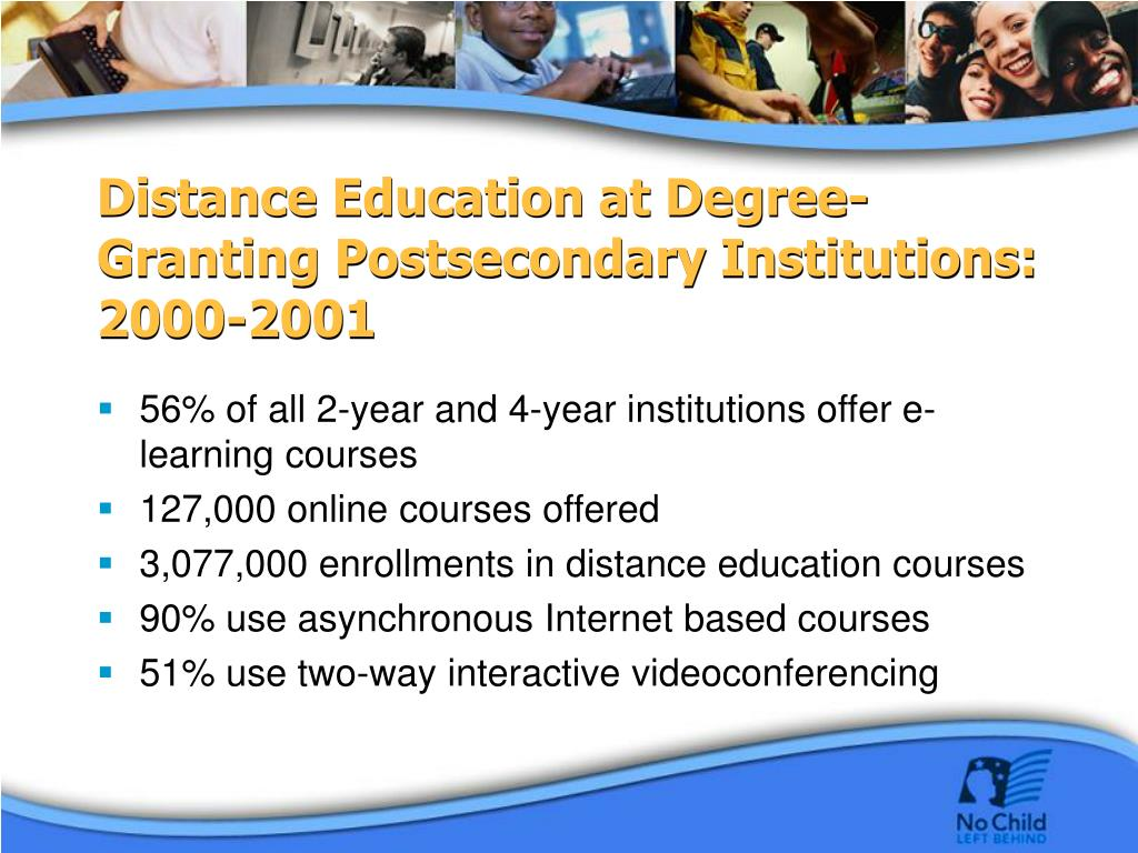 Distance Education at Degree-Granting Postsecondary Institutions: 2000-2001