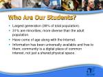 who are our students