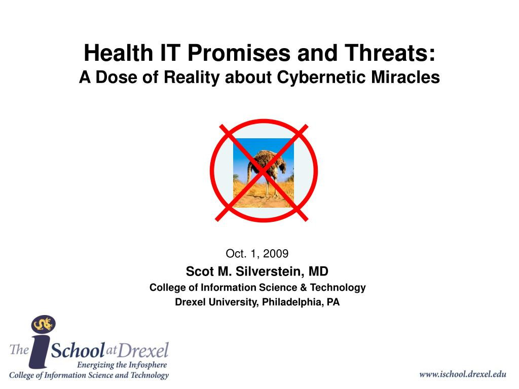 health it promises and threats a dose of reality about cybernetic miracles l.