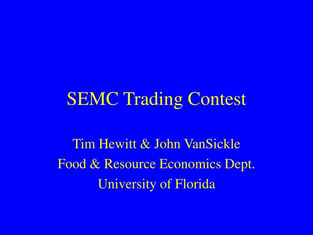 semc trading contest l.