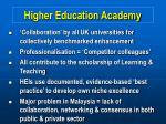 higher education academy