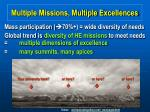 multiple missions multiple excellences18