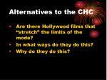 alternatives to the chc
