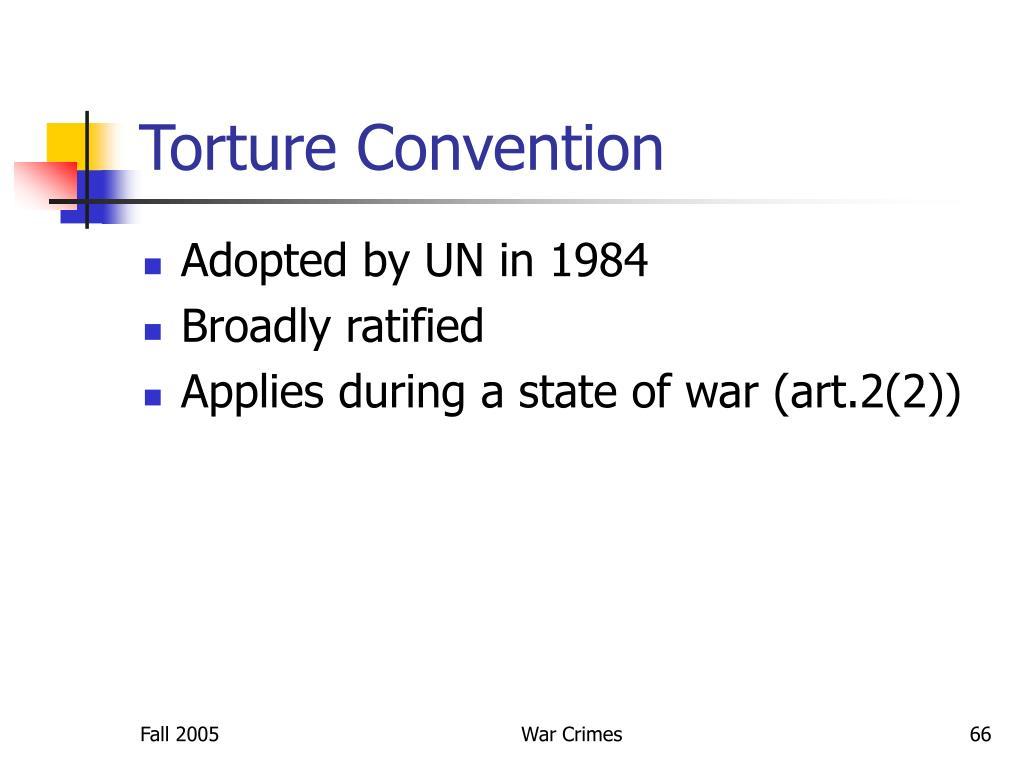 Torture Convention