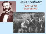 henri dunant battle of solferino