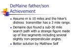 demaine father son achievement