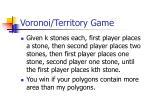 voronoi territory game