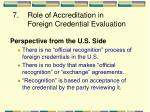 7 role of accreditation in foreign credential evaluation
