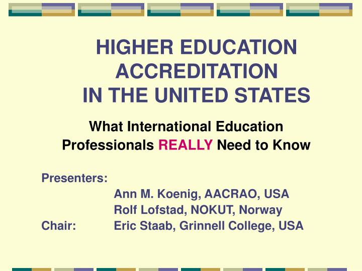 higher education in the united states An overview diversity,access, united states: of higher education in the american council on education the unifying voice for higher education and the.