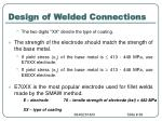 design of welded connections68