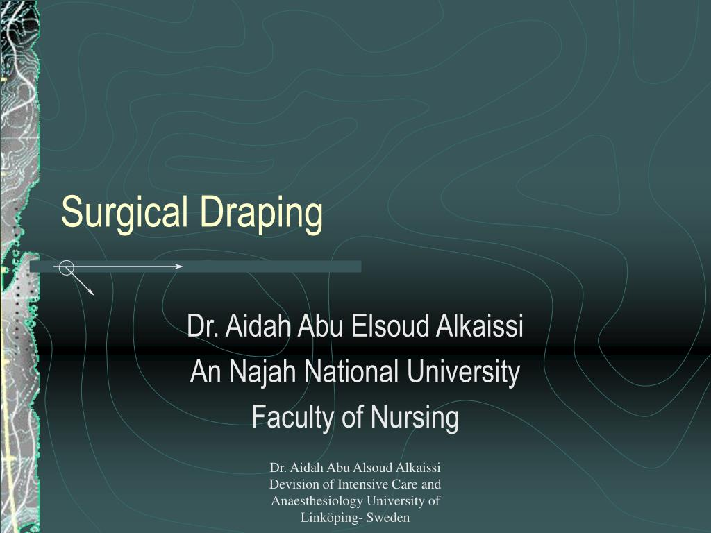 surgical draping l.