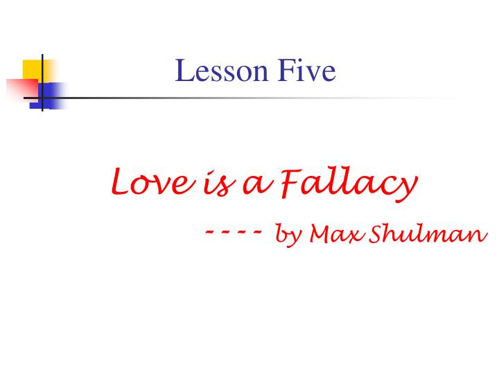 lesson five n.