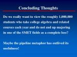 concluding thoughts195