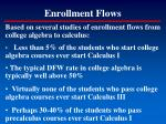 enrollment flows