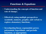 functions equations