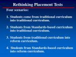 rethinking placement tests105