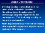 some conclusions15