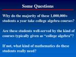 some questions5