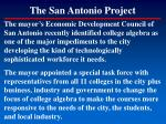 the san antonio project