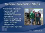 general prevention steps15