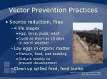 vector prevention practices49