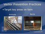 vector prevention practices51