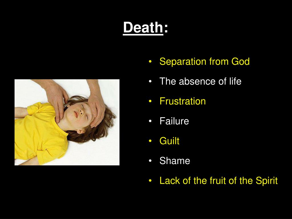 Separation from God